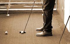 """室内高尔夫:""""贵族""""运动走向大众"""